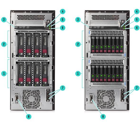 HPE ProLiant ML110 G10 LFF Silver 4108