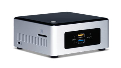 Picture of Intel NUC Kit NUC5CPYH Mini PC