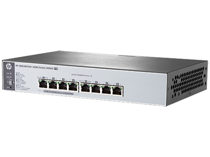 Picture of HP 1820-8G-PoE+ (65W) Switch (J9982A)