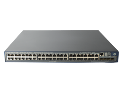 Picture of HP 5500-48G-PoE+ EI Switch with 2 Interface Slots (JG240A)