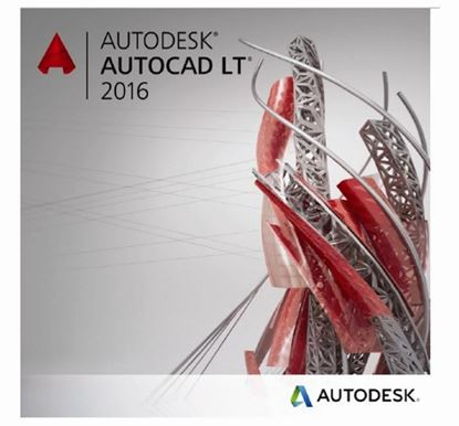 Picture of Autodesk AutoCAD LT 2016 Commercial New SLM ELD 3-Year Desktop Subscription with Advanced Support PROMO