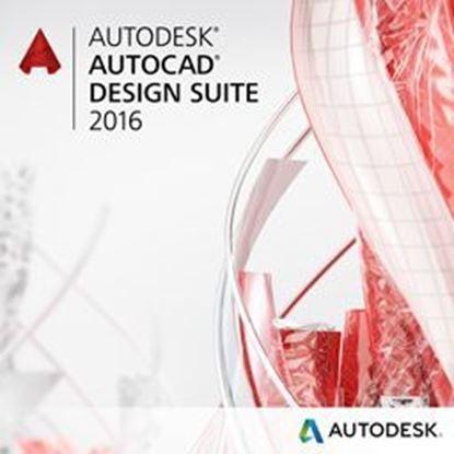 Picture of Autodesk AutoCAD Design Suite Premium 2016 Commercial New SLM ELD Quarterly Desktop Subscription with Advanced Support