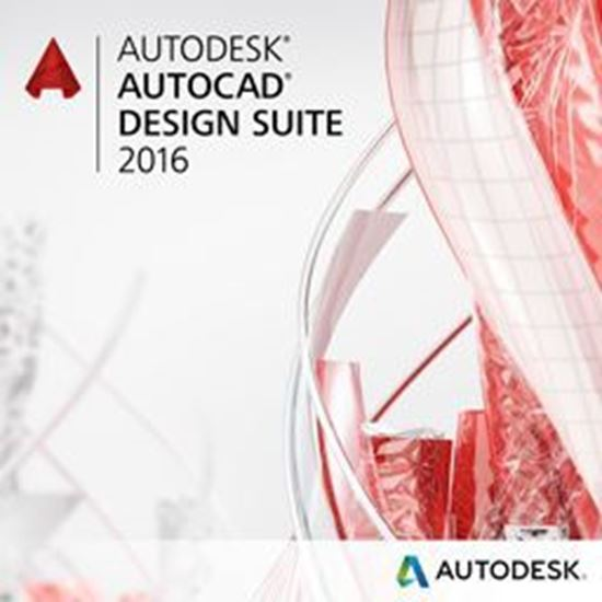 Picture of Autodesk AutoCAD Design Suite Premium 2016 Commercial New SLM ELD ACE