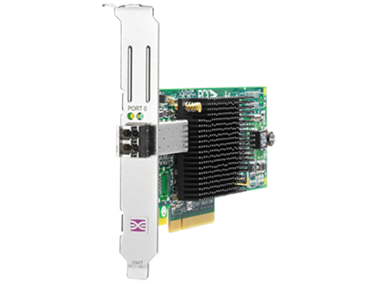 Picture of HP 81E 8Gb 1-port PCIe Fibre Channel Host Bus Adapter (AJ762B)
