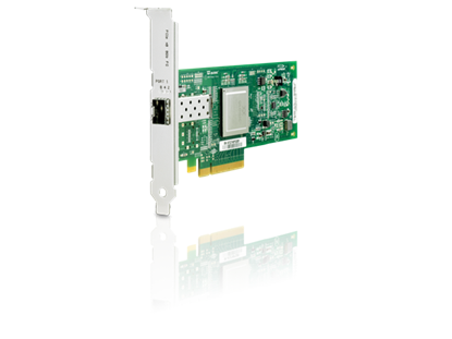 Picture of HP 81Q 8Gb 1-port PCIe Fibre Channel Host Bus Adapter (AK344A)