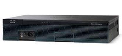Picture of Cisco 2911 CISCO2911/K9 w/3 GE 4 EHWIC 2 DSP 1 SM 256MB CF 512MB DRAM IPB