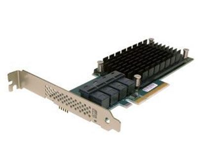 Picture of ATTO ExpressSAS H120F 16 Internal Port 12Gb/s SAS/SATA to PCIe 3.0 Host Bus Adapter