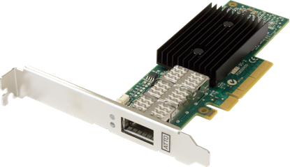 Picture of ATTO FastFrame™ NQ41 Direct Attach Interface Single Port 40GbE PCIe 3.0 Network Adapter