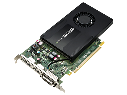 Picture of NVIDIA Quadro K2200 4GB Graphics Card (J3G88AA)