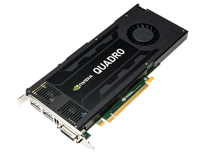 Picture of NVIDIA Quadro K4200 4GB Graphics Card (J3G89AA)
