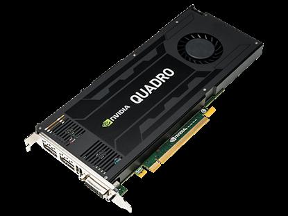 Hình ảnh NVIDIA Quadro K4200 4GB Graphics Card (J3G89AA)