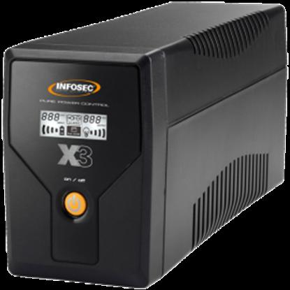 UPS Infosec X3 EX LCD USB 1000