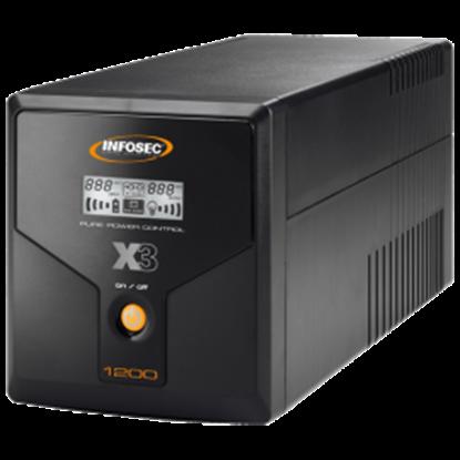 UPS Infosec X3 EX LCD USB 1200