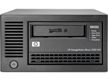 Picture of HPE StoreEver LTO-5 Ultrium 3280 SAS External Tape Drive (EH900B)