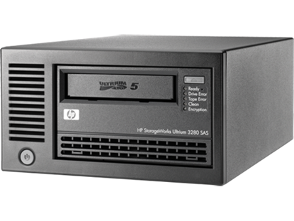 Picture of HPE StoreEver LTO-5 Ultrium 3000 SAS External Tape Drive(EH958B)