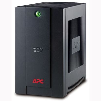 Picture of APC Back-UPS 800VA, 230V, AVR, Universal and IEC Sockets (BX800LI-MS)