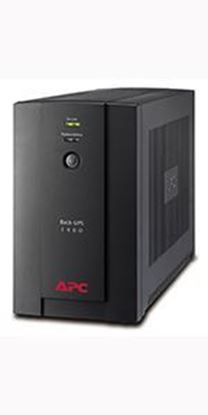 Picture of APC Back-UPS 1400VA, 230V, AVR, Universal and IEC Sockets (BX1400U-MS)