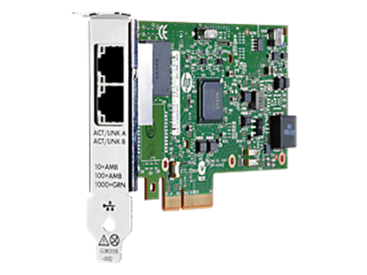 Picture of HP Ethernet 1Gb 2P 361T Adptr (652497-B21)