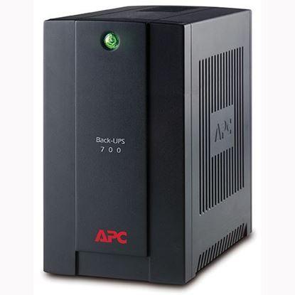 Hình ảnh APC Back-UPS 700VA, 230V, AVR, Universal and IEC Sockets (BX700U-MS)
