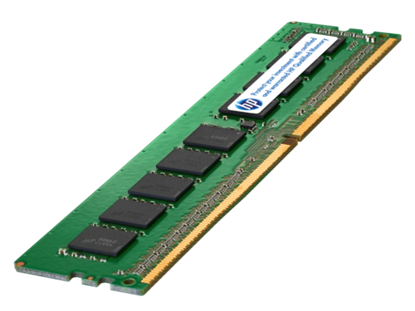 Picture of HPE 4GB (1x4GB) Single Rank x8 DDR4-2133 CAS-15-15-15 Unbuffered Memory Kit (805667-B21)
