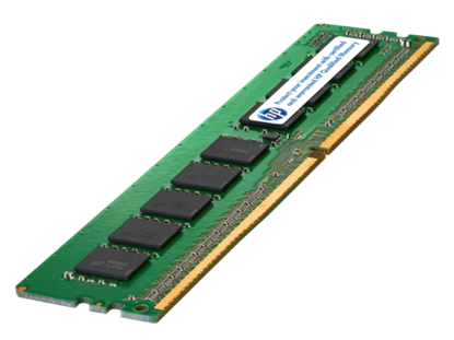 Picture of HPE 8GB (1x8GB) Dual Rank x8 DDR4-2133 CAS-15-15-15 Unbuffered Memory Kit (805669-B21)