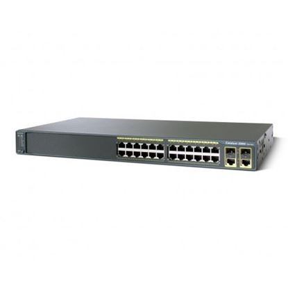 Picture of Catalyst 2960 Plus 24 10/100 + 2T/SFP LAN Base (WS-C2960+24TC-L)