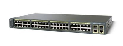 Picture of Catalyst 2960 Plus 48 10/100 + 2 T/SFP LAN Base (WS-C2960+48TC-L)