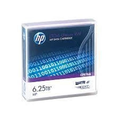 Picture of HP LTO-6 Ultrium 6.25 TB MP RW Data Cartridge (C7976A)