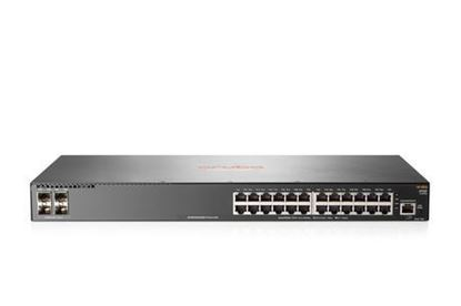 Picture of Aruba 2930F 24G PoE+ (370W) 4SFP+ Switch JL255A