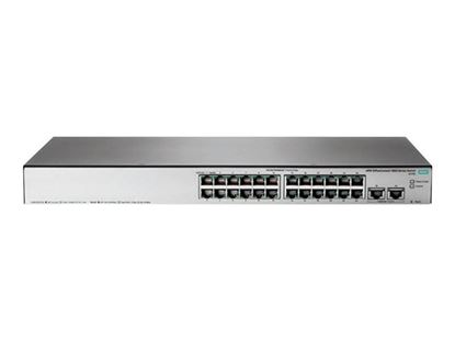 Hình ảnh HPE OfficeConnect 1850 24G 2XGT PoE+ 185W Switch  JL172A