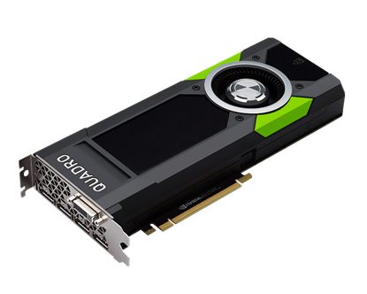 Picture of NVIDIA Quadro P5000 (16GB) Graphics Card (Z0B13AA)