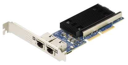 Picture of ThinkSystem Broadcom NX-E PCIe 10Gb 2-Port Base-T Ethernet Adapter (7ZT7A00496)