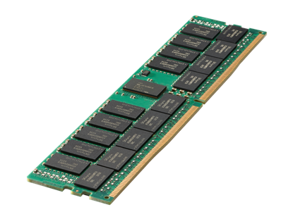 Picture of HPE 32GB (1x32GB) Dual Rank x4 DDR4-2666 CAS-19-19-19 Registered Smart Memory Kit (815100-B21)