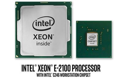Picture of Intel Xeon E-2124 Processor 8M Cache, up to 4.30 GHz