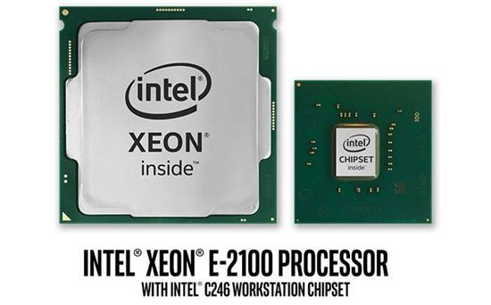 Picture of Intel Xeon E-2124G Processor 8M Cache, up to 4.50 GHz