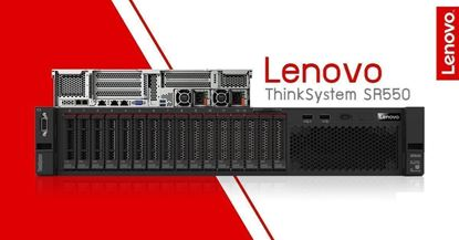 Picture of Lenovo ThinkSystem SR550 SFF Silver 4110