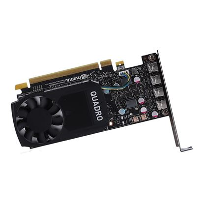Hình ảnh NVIDIA Quadro P620, 2GB, 4 mDP to DP adapter