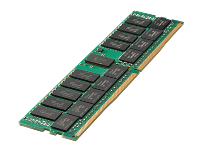 Picture of HPE 64GB (1x64GB) Dual Rank x4 DDR4-2933 CAS-21-21-21 Registered Smart Memory Kit (P00930-B21)