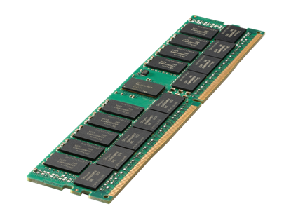 Picture of HPE 64GB (1x64GB) Quad Rank x4 DDR4-2933 CAS-21-21-21 Load Reduced Smart Memory Kit (P00926-B21)