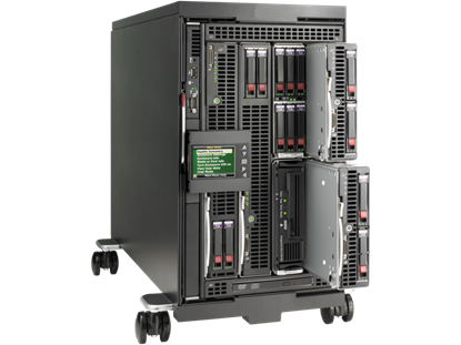 Hình ảnh HPE BLc3000 Platinum Configure-to-order Enclosure with 6 Fans ROHS Trial Insight Control License (696910-B21)