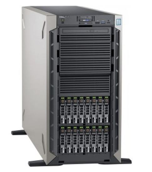 "Picture of Dell PowerEdge T640 2.5"" Silver 4214"