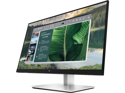 Picture of HP E24u G4 24-inch FHD Monitor/ FHD/ IPS/ HDMI/ 2 DP (1 in - 1 out)/ USB Type-C (189T0AA)