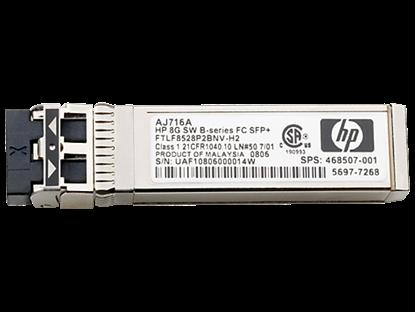Hình ảnh HP 8Gb Shortwave B-series Fibre Channel 1 Pack SFP+ Transceiver(AJ716B)