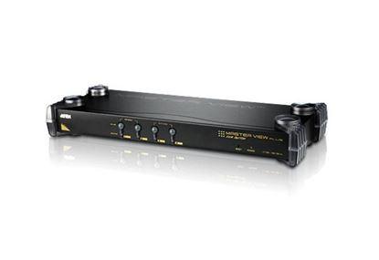 Picture of ATEN CS9134 4-port PS/2 & USB- CS-9134 (Cascade 3 levels, control max 64 servers)