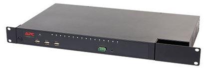 Picture of APC KVM 2G, Enterprise Analog, 2 Local Users, 16 ports with Virtual Media KVM0216A