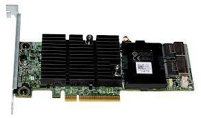 Picture of PERC H710 Adapter 6Gb/s SAS PCI-Express 2.0 2x4 Internal  512MB NV Flash Backed Cache 0,1,5,6,10,50,60 32 Hardware RAID