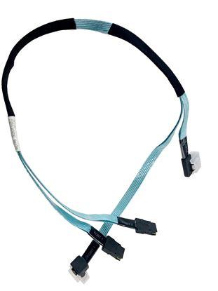 Hình ảnh HP Dual Mini-SAS x4 SFF-8087 770mm Cable for HP ProLiant (756907-001)