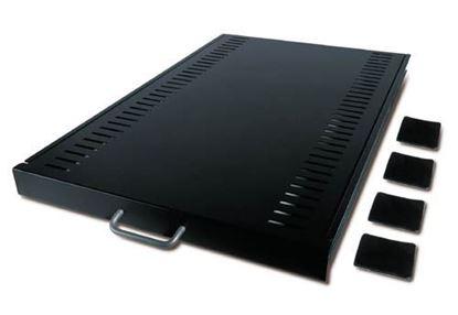 Picture of Sliding Shelf 100lbs/45.5kg Black  (AR8123BLK)