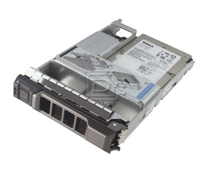 Picture of Dell 900GB 15K RPM SAS 12Gbps 512n 2.5in Hot-plug Hard Drive,3.5in HYB CARR