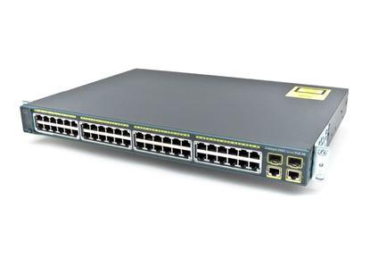 Hình ảnh Catalyst 2960 Plus 48 10/100 PoE + 2 1000BT +2 SFP LAN Base (WS-C2960+48PST-L)